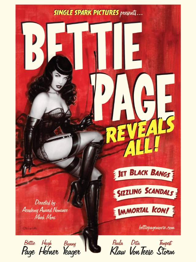 Bettie Page Reveals All: The Authorized Biography
