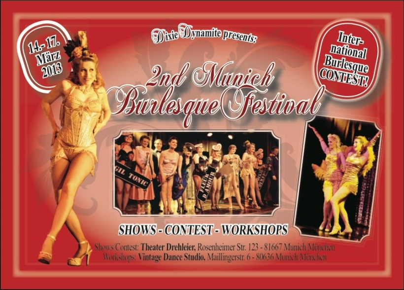Munich Burlesque Festival 2013 - München / Germany